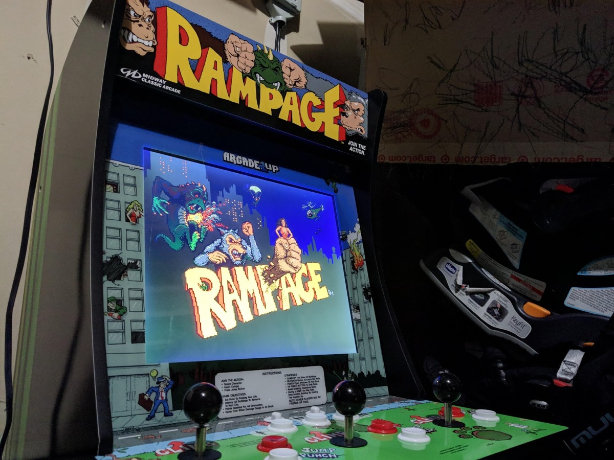 Arcade1up Review An Affordable Compact Cabinet Venturebeat