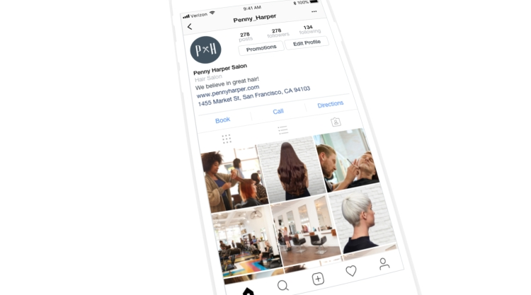 Square Appointments on Instagram
