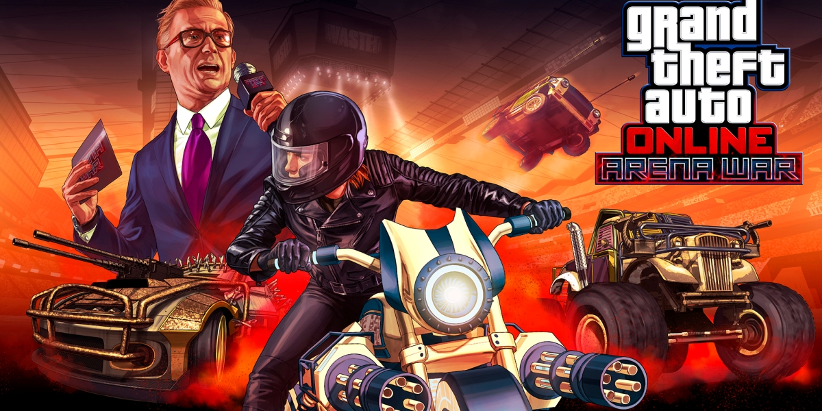 Grand Theft Auto Online: Arena Wars.