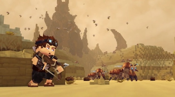 Beware Minecraft And Roblox Here Comes The Blocky World Of Hytale