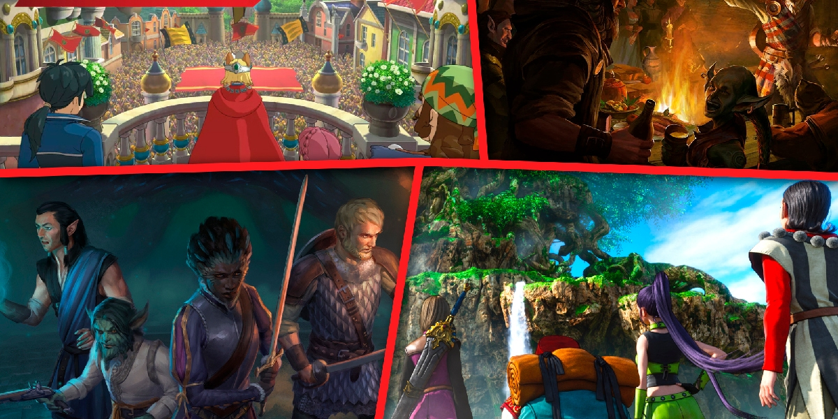 The best RPGs of 2018 include Dragon Quest XI, Pillars of Eternity II, and