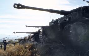 Panzerstorm is a huge tank battle map in Battlefield V's Overture update.