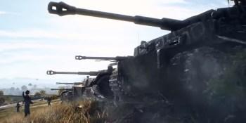 Panzerstorm is a huge tank battle map in Battlefield V's Overture update.