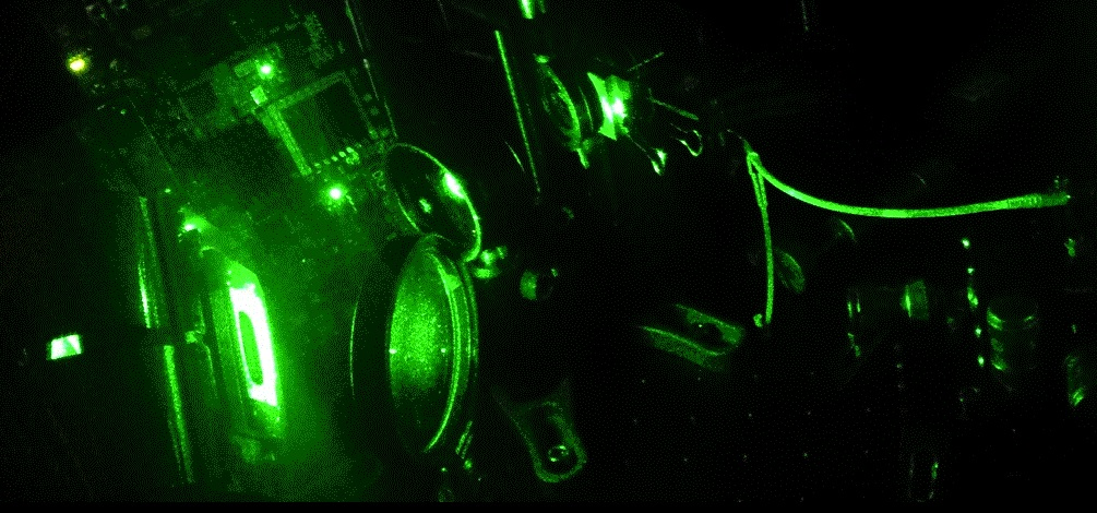 LightOn's optical computing hardware.