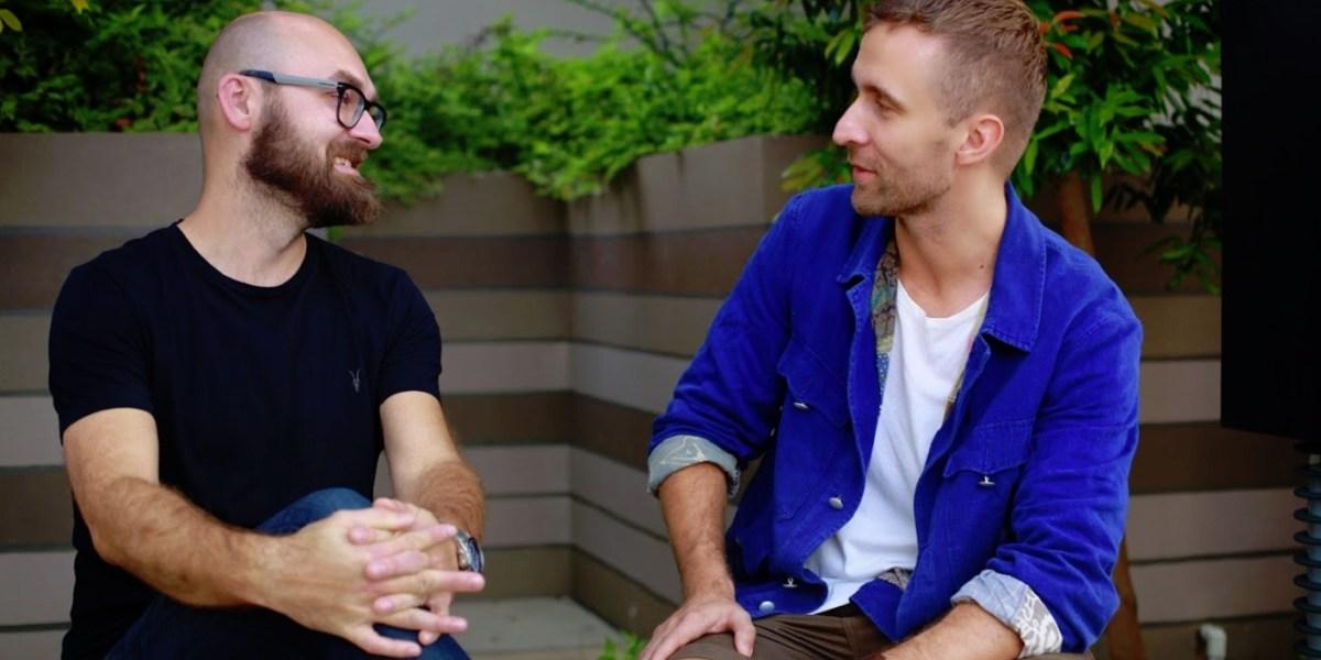 Harri Manninen (left) and Henric Suuronen of Play Ventures.