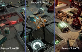 PowerVR's graphics chips have a wide range of uses.