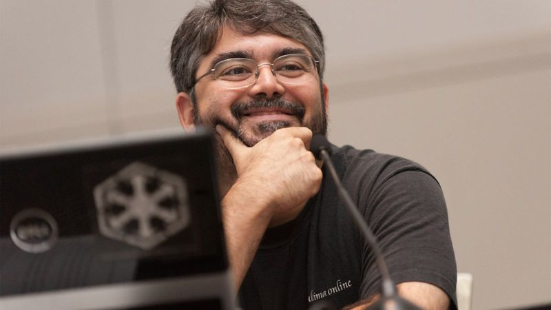 Raph Koster at GDC in 2012.