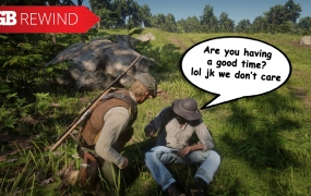 Red Dead doesn't care if you're having a good time or not.