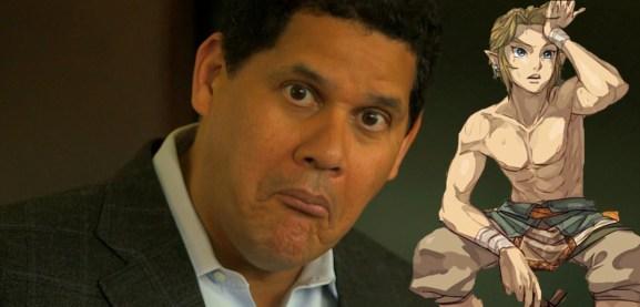 Reggie approves of Link.