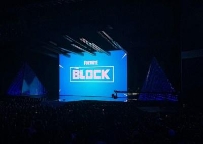 fortnite debuted the block - fort art fortnite