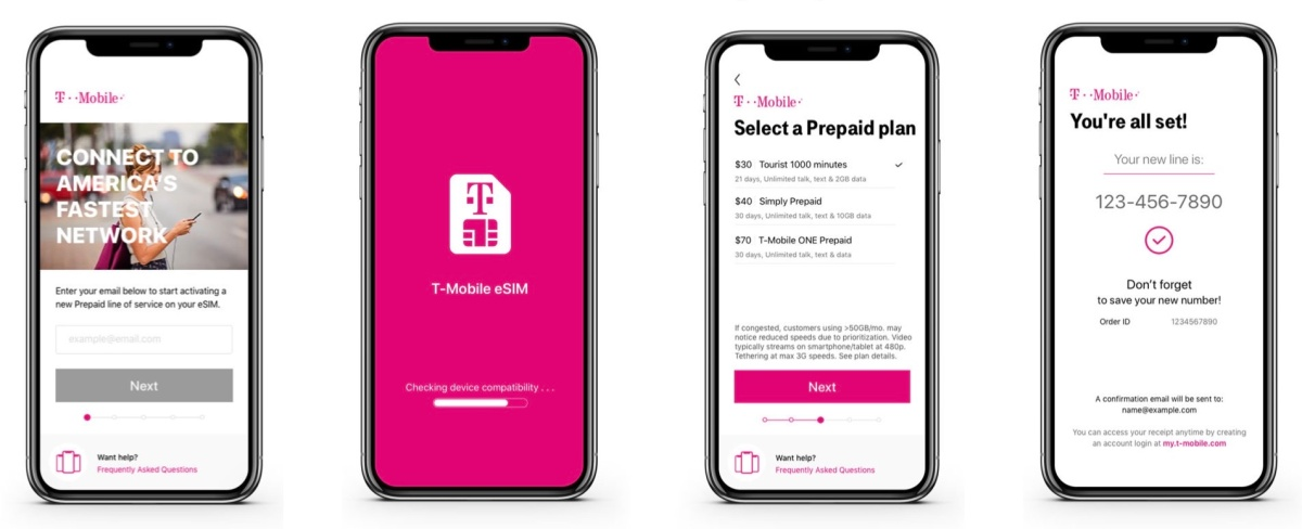 T-Mobile woos new customers with test drive of new iPhone