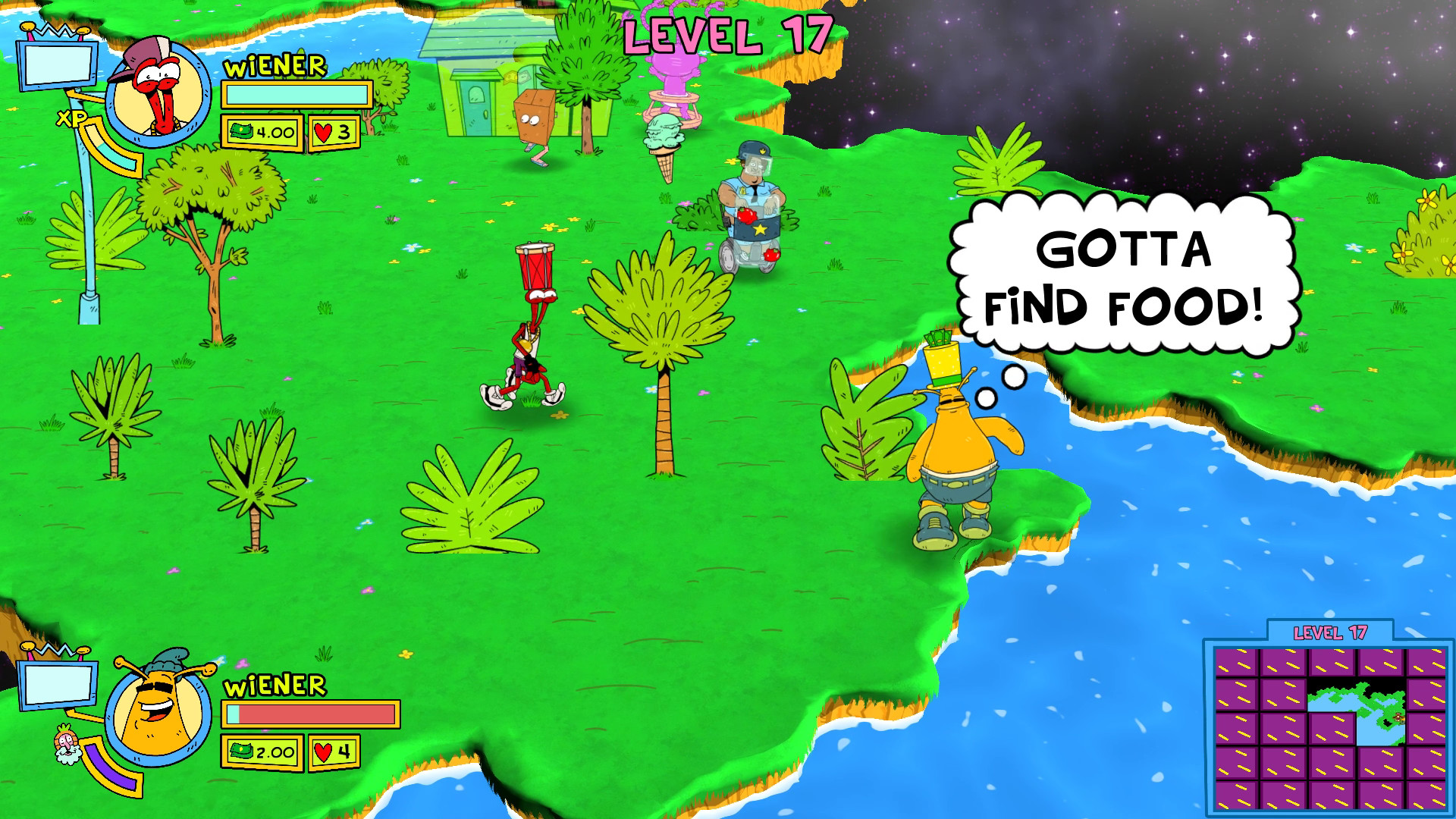 Image result for toejam and earl back in the groove