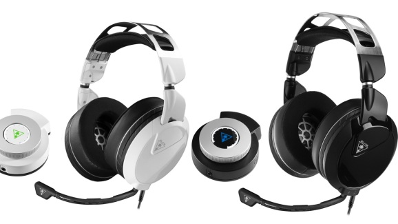 Turtle Beach's Elite Pro 2 headsets for Xbox One and PlayStation 4. Both work with PC as well.