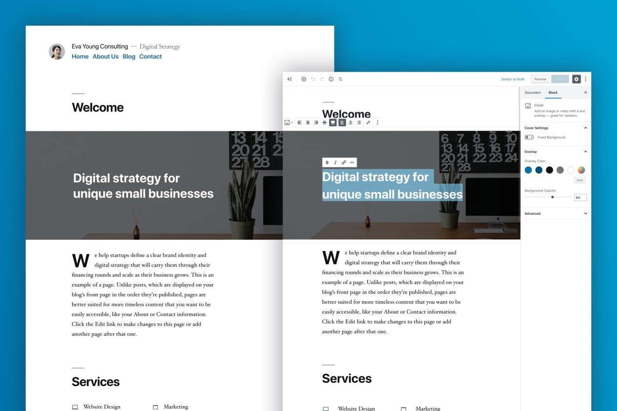 WordPress 5.0 arrives with block-based editor, new default theme, and developer featuresWordPress 5.0 arrives with block-based editor, new default theme, and developer features - VentureBeat - 웹