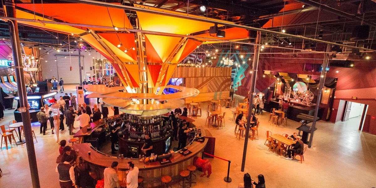 Two Bit Circus is a micro-amusement park in downtown LA.