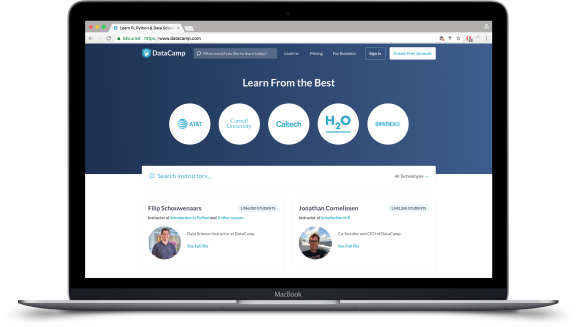 DataCamp raises $25 million for customizable online data science courses