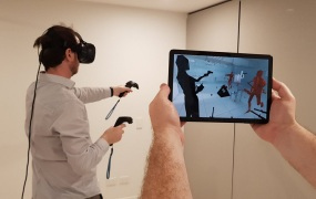 ViewR lets you see what someone else is experiencing in VR.