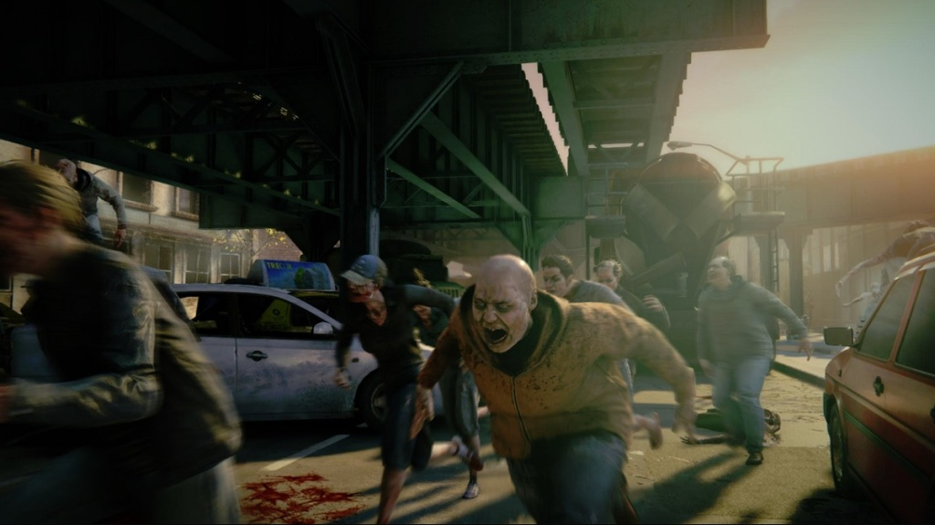 World War Z's zombies are terrifying.