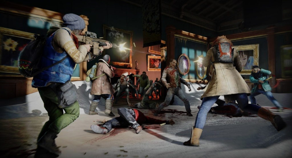World War Z pits players against more than 500 zombies in a swarm.