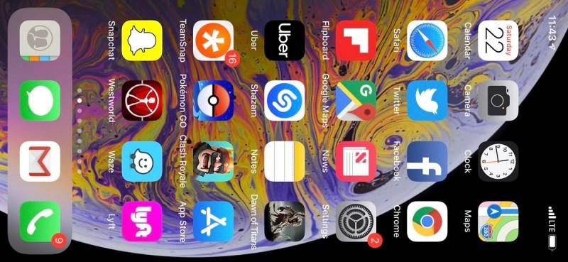 My XR screen