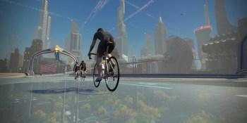 Zwift virtual world: New York