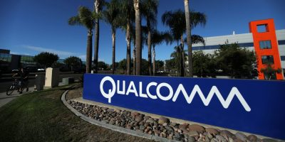 2c410498513 A sign on the Qualcomm campus is seen in San Diego, California, U.S.  November