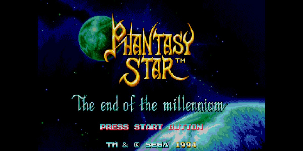 Phantasy Star IV: The End of the Millennium.