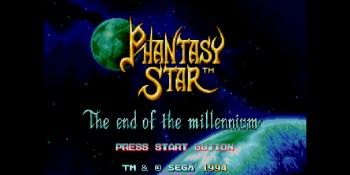 Phantasy Star IV: The End of the Millennium.