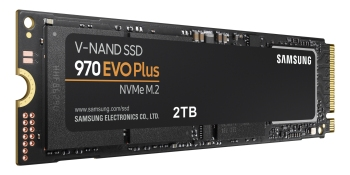 The new 970 Evo Plus SSD from Samsung.
