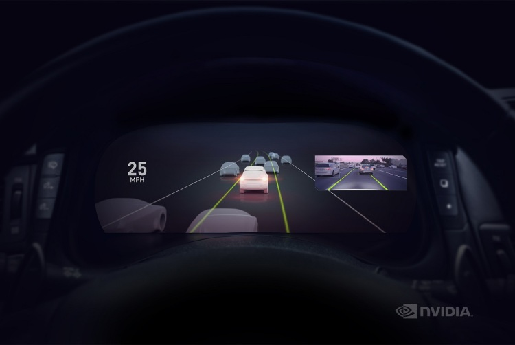 Nvidia's autopilot