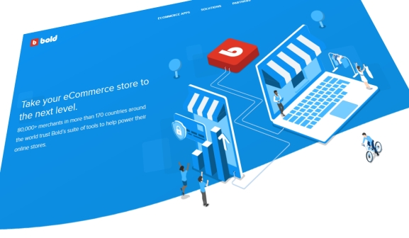 Bold Commerce's homepage