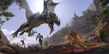 The Elder Scrolls Online is getting a graphics boost on PS5 and Xbox Series X/S