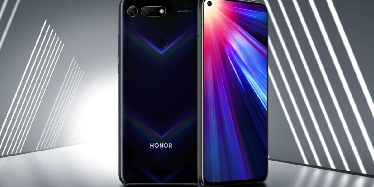 Huawei's Honor View20 smartphone
