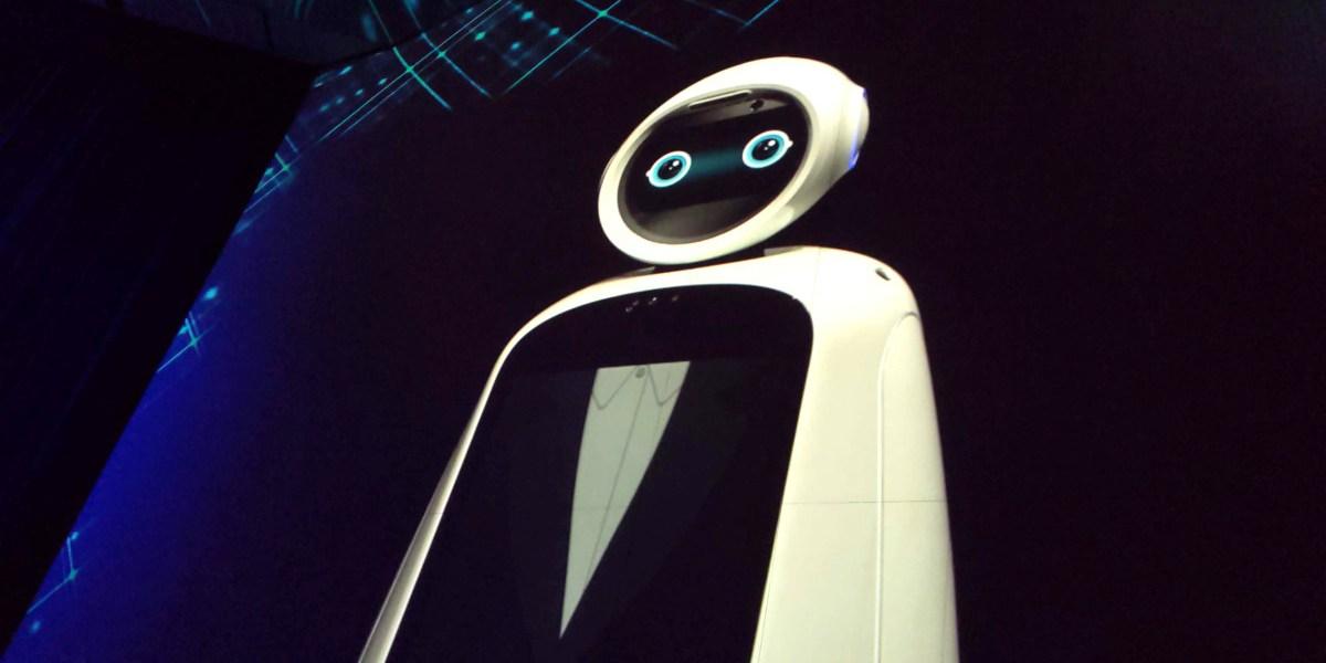 LG's CLOi robot