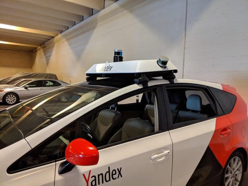Yandex self-driving car