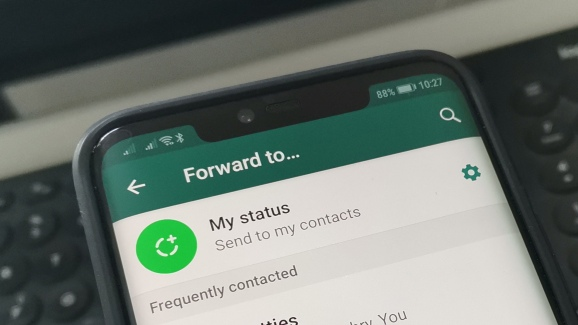 WhatsApp: Forwarded messages