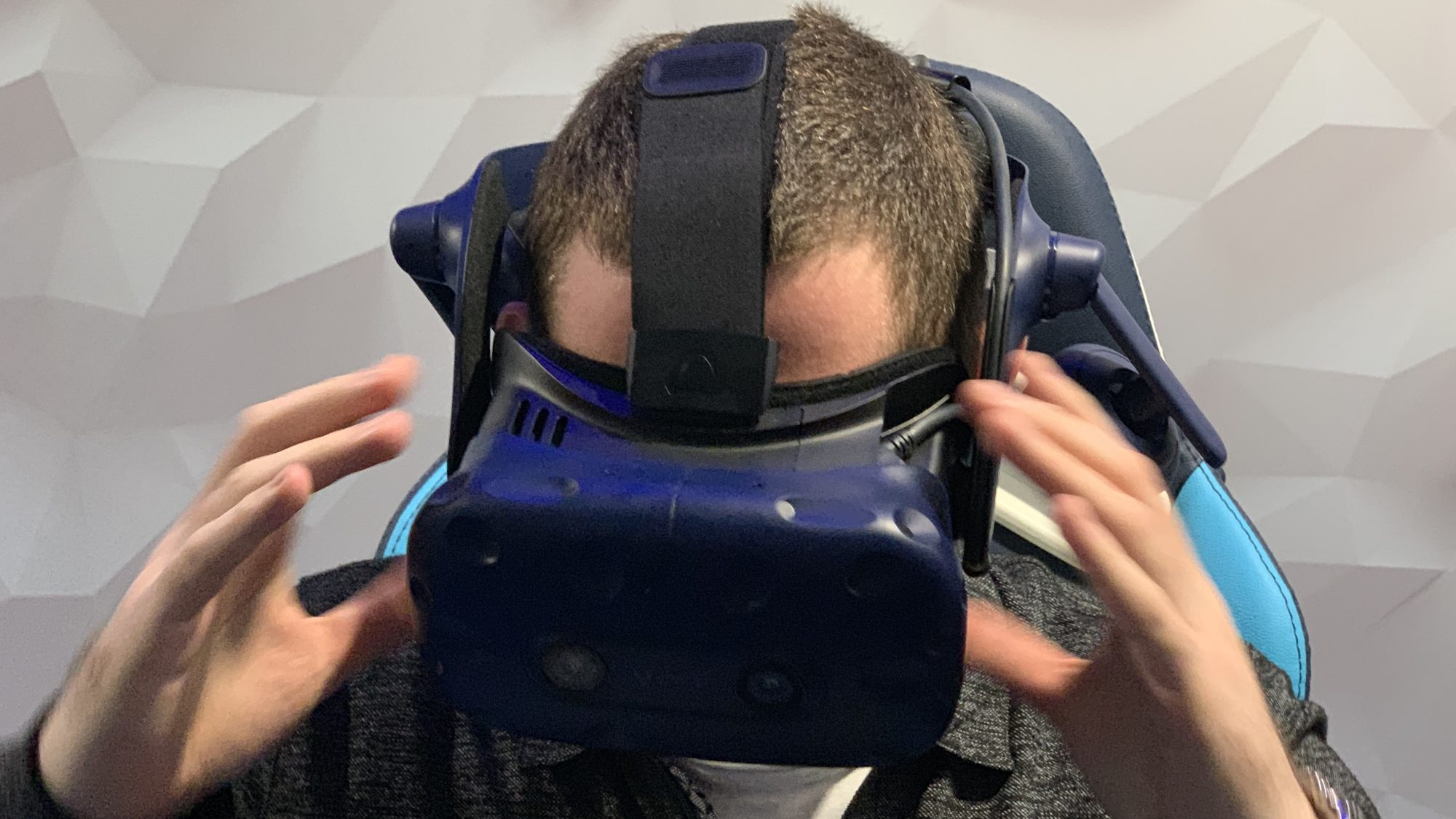 HTC Vive Pro Eye hands-on: Gaze into VR's future with