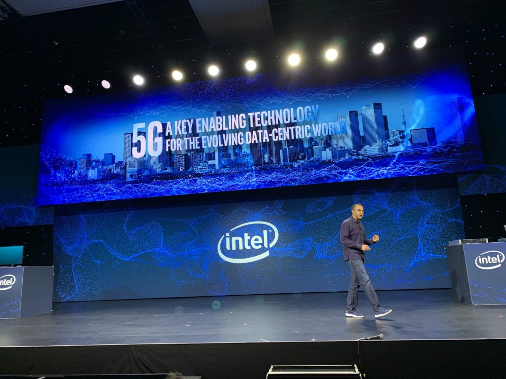Intel's 2019 CES press conference.
