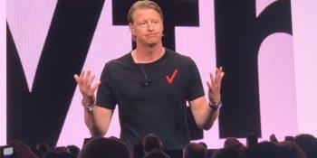 Verizon CEO Hans Vestberg discusses 5G at the 2019 CES.