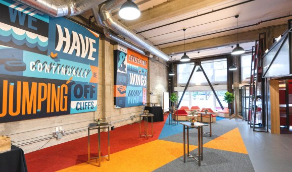 Google's new Launchpad space in San Francisco