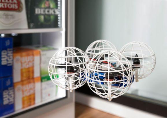Pensa Systems' autonomous inventory drones.