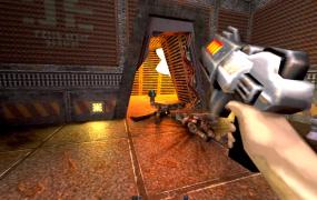 Quake 2 in action