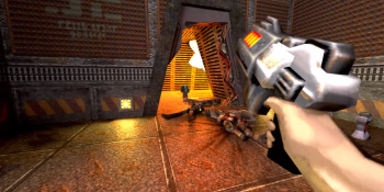Quake 2 in action