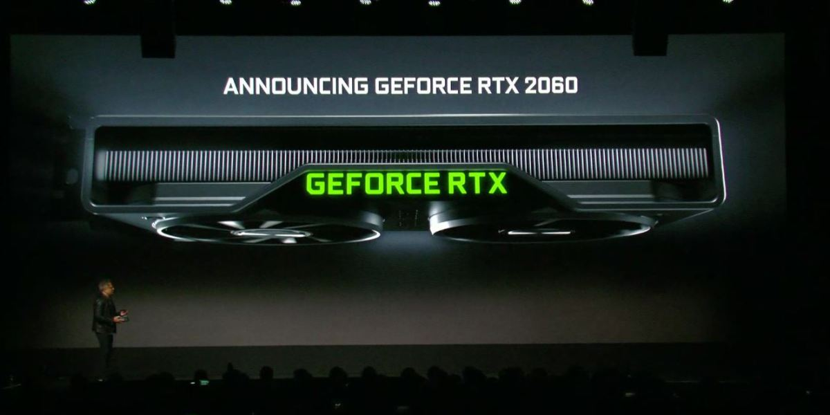 The RTX 2060 from Nvidia/