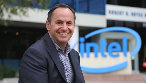 New permanent Intel CEO Robert Swan