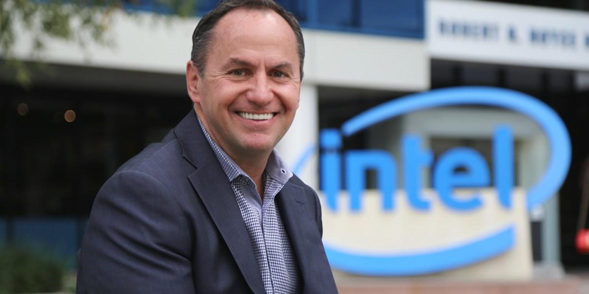 New permanent Intel CEO Robert Swan