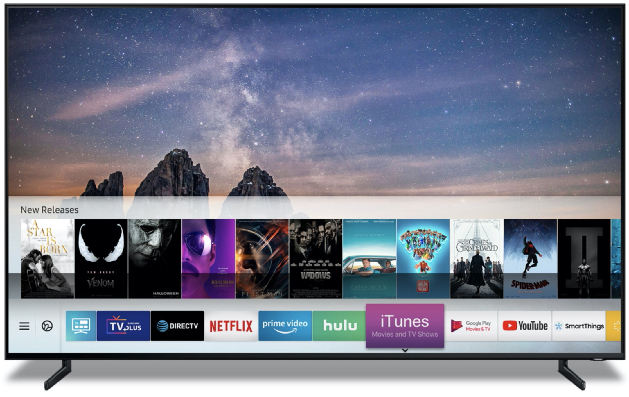 Samsung Smart TVs will support Apple AirPlay 2 and iTunes