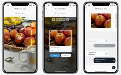 Rosetta Stone for iPhone adds AI to identify objects for