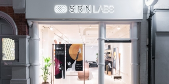 Sirin Labs' retail store for the Finney blockchain smartphone
