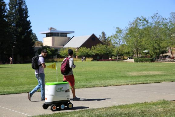 Pepsi delivery robot